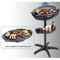 Electric standing and table-top grill