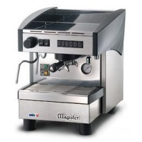 Espresso coffee machines with programmable dosage